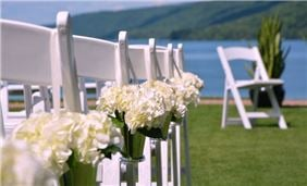 Hotel Cooperstown - Lake Side Wedding