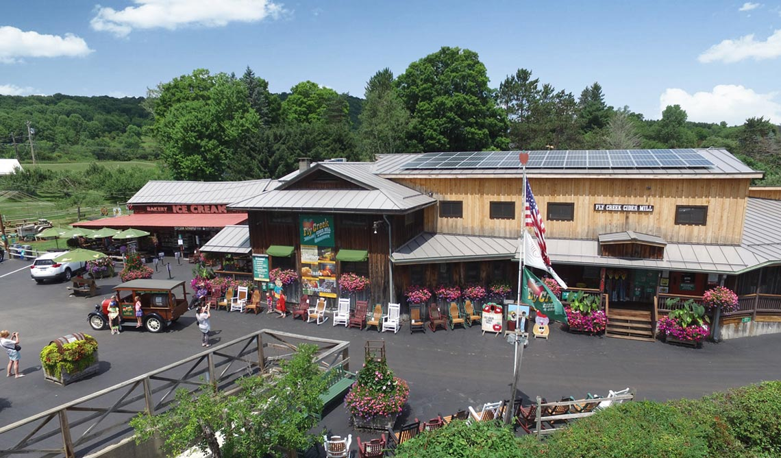 Fly Creek Cider MIll & Orchard Cooperstown New York