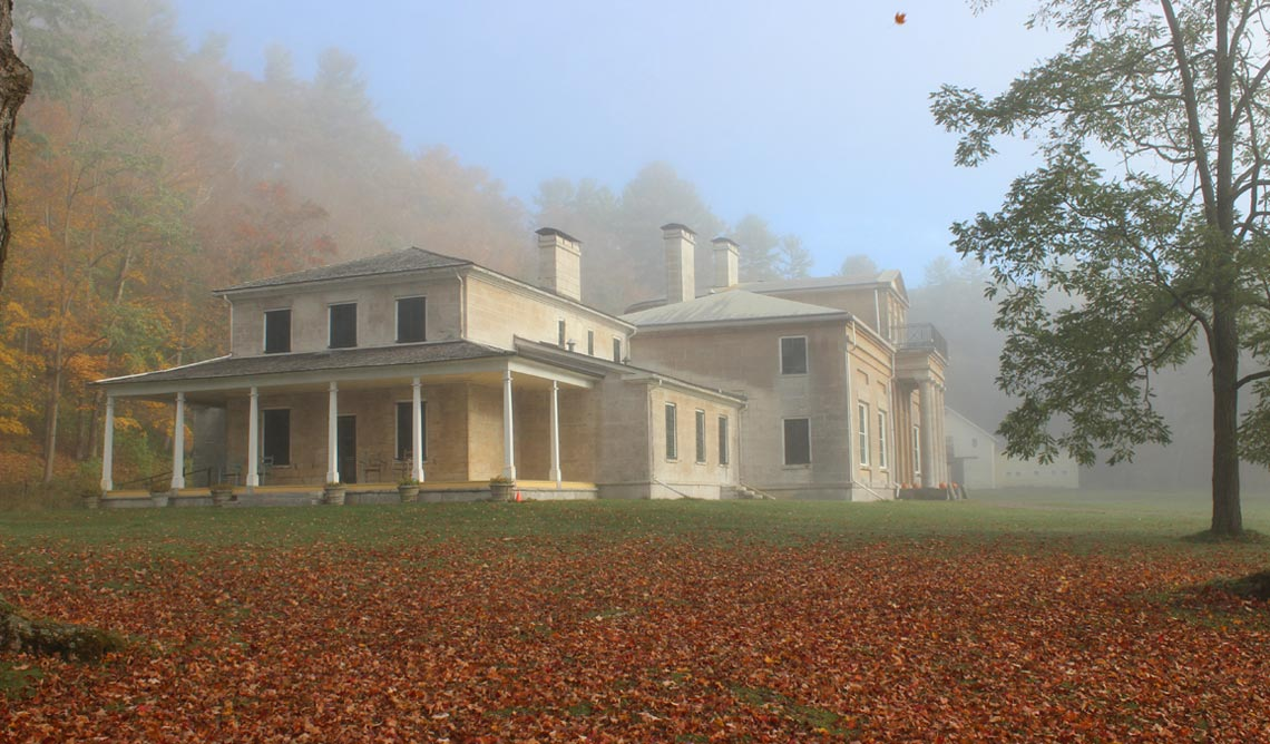 Historic Hyde Hall Museum Cooperstown New York