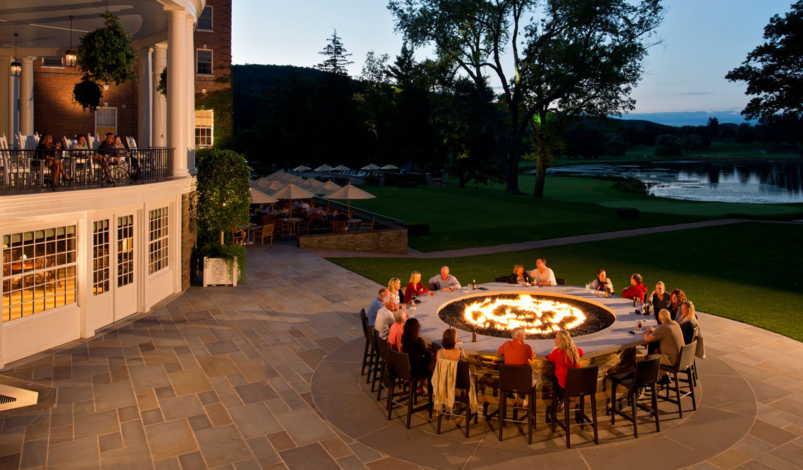 Fire Bar at The Otesaga Resort Hotel Cooperstown, New York