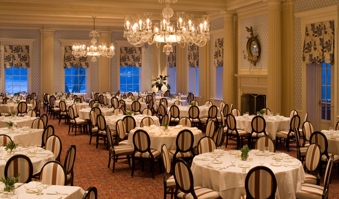 Glimmerglass Fine Dining at The Otesaga Resort Hotel Cooperstown, New York