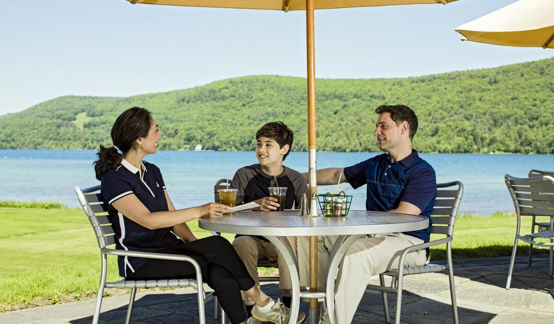 Leatherstocking Golf Bar & Grill at The Otesaga Resort Hotel Cooperstown, New York