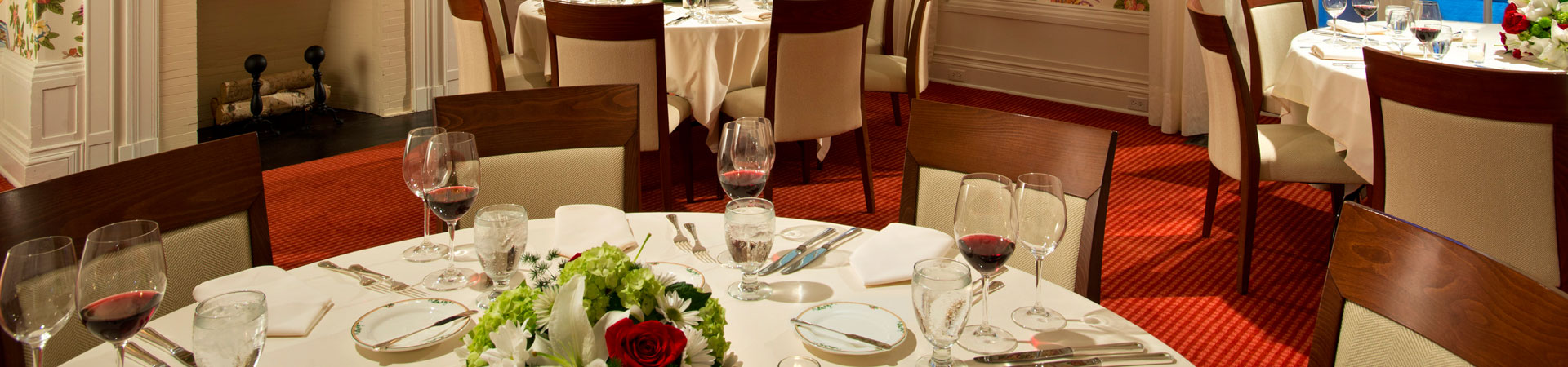 Dining Facilities at The Otesaga Resort Hotel Cooperstown, New York Top
