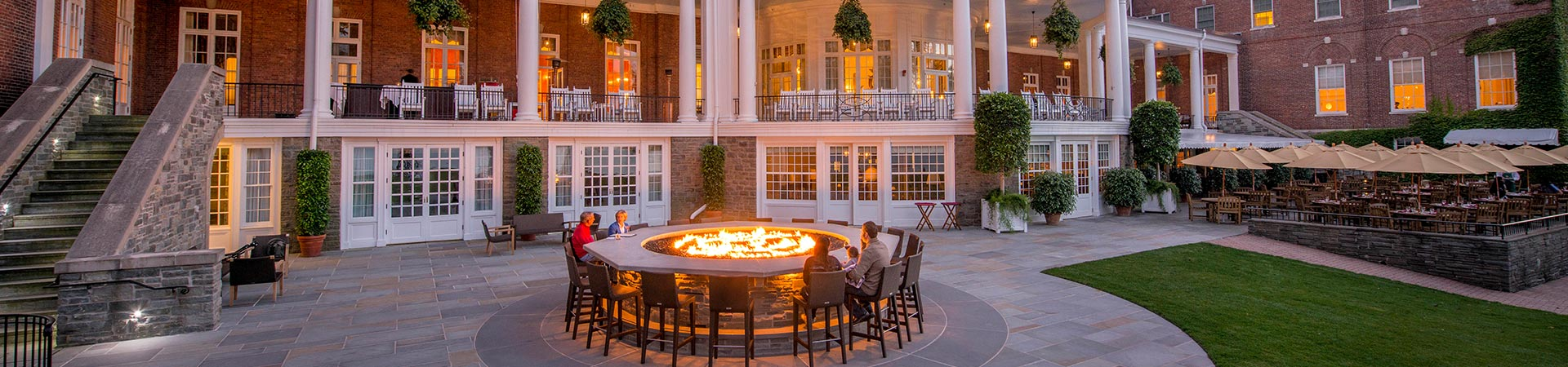 Fire Bar in The Otesaga Resort Hotel Cooperstown, New York