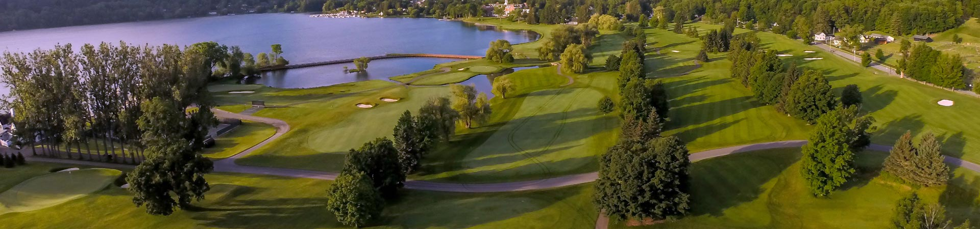 Golf at Cooperstown, New York