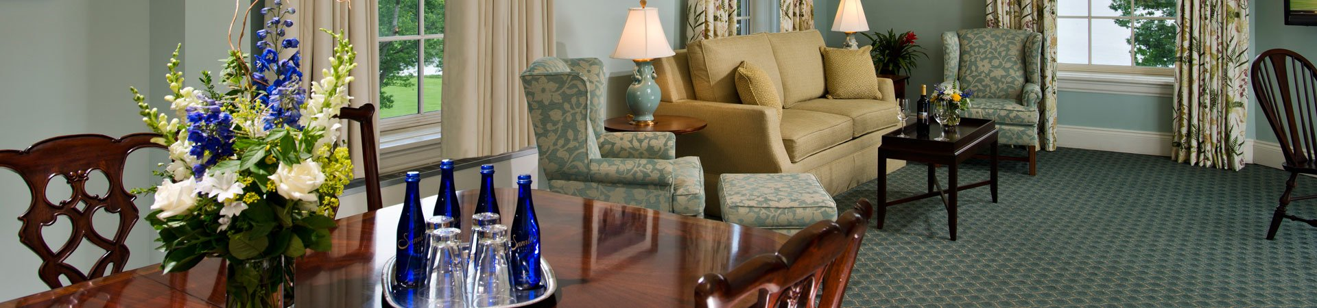 Grand Lake View Suite at The Otesaga Resort Hotel Cooperstown, New York