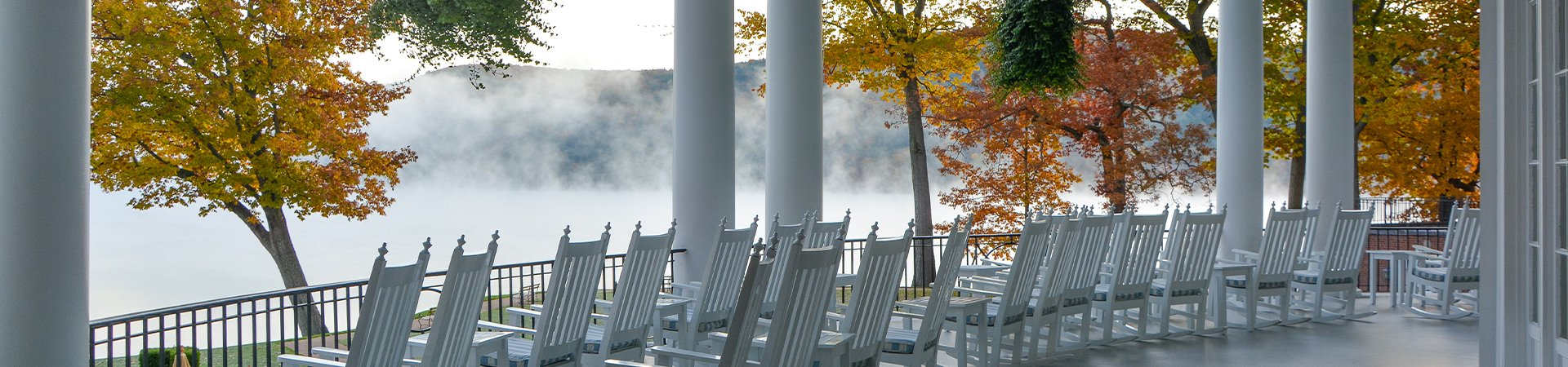 Autumn On The Lake Package at Cooperstown New York