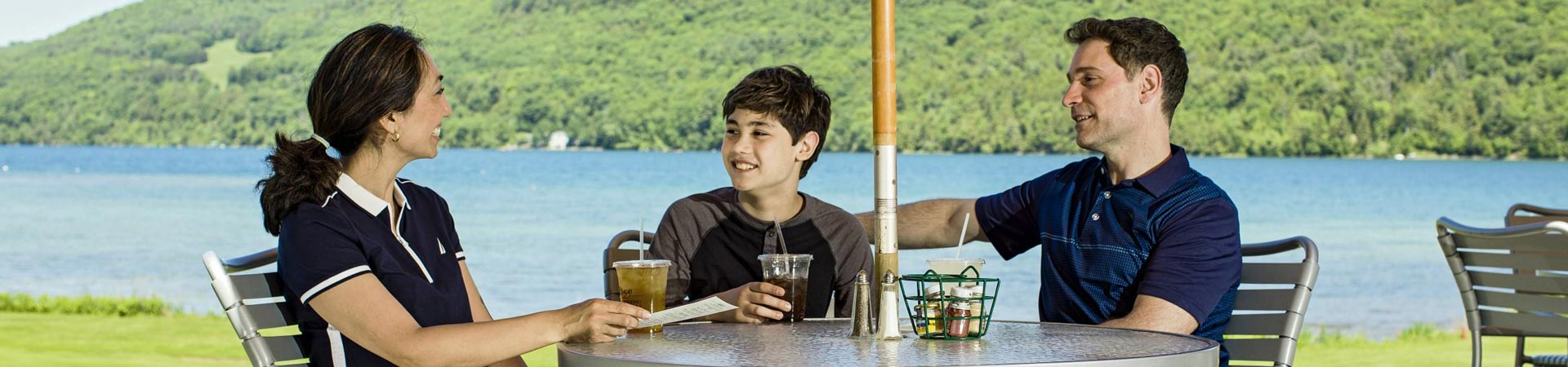 Leatherstocking Golf Bar & Grill in The Otesaga Resort Hotel Cooperstown, New York