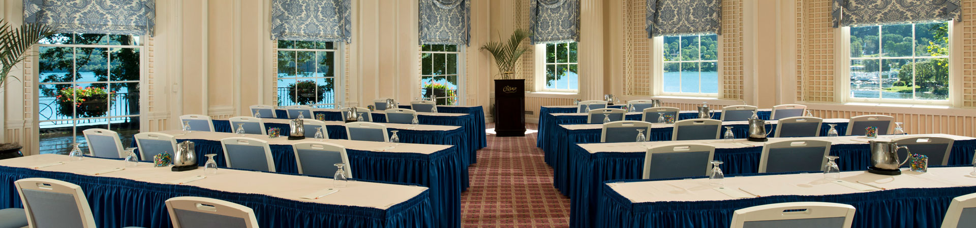 Meeting Facilities in The Otesaga Resort Hotel Cooperstown, New York