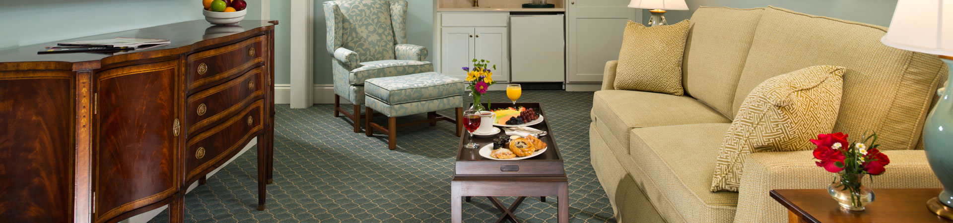 Rooms at The Otesaga Resort Hotel Cooperstown, New York Top