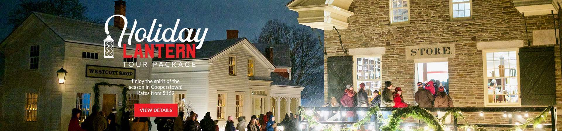 Holiday Lantern Tour Package