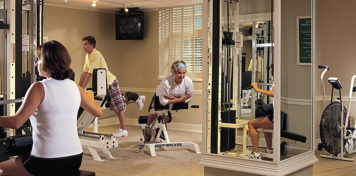 The Otesaga Resort Hotel Fitness Room
