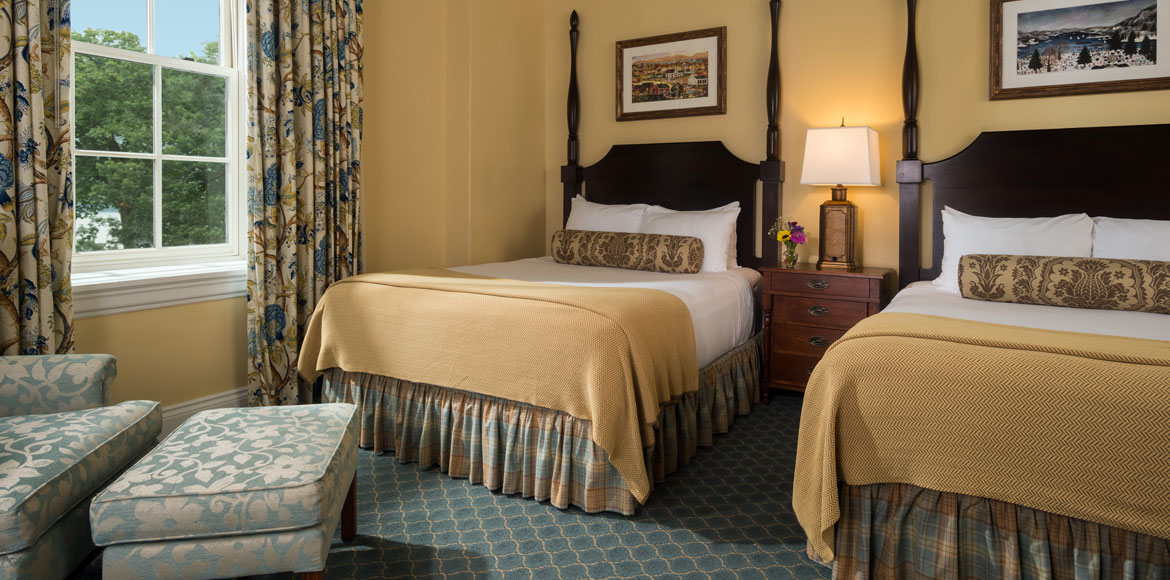 Deluxe Room at The Otesaga Resort Hotel Cooperstown, New York