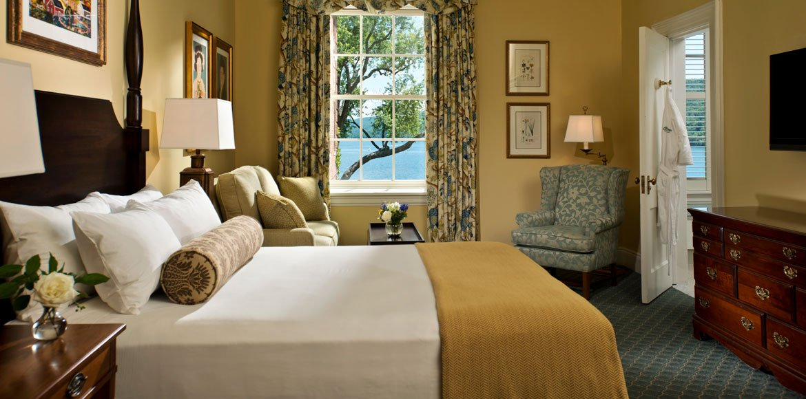 Superior Room at The Otesaga Resort Hotel Cooperstown, New York