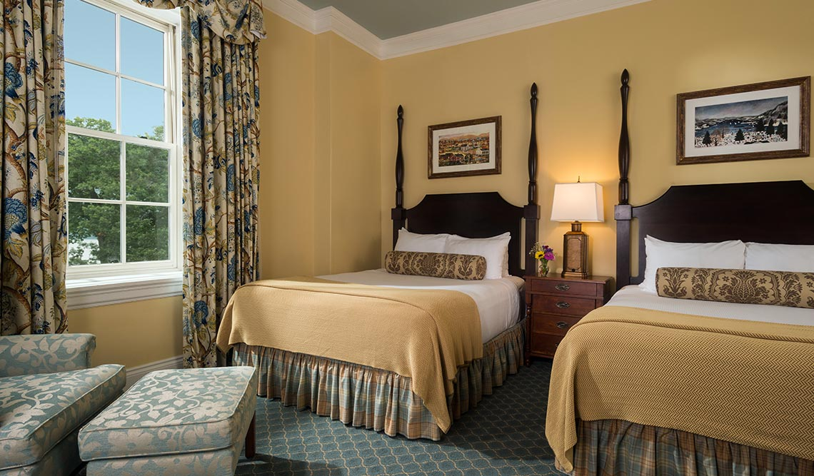 Rooms at The Otesaga Resort Hotel Cooperstown, New York