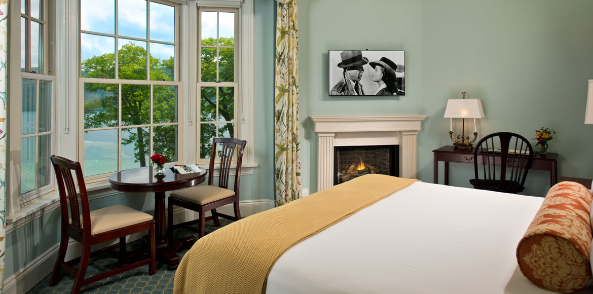 Superior Lake Suite at The Otesaga Resort Hotel Cooperstown, New York